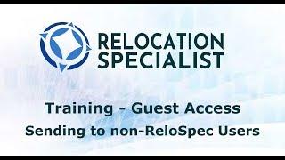 Training Videos - Sending Referral to non-ReloSpec User