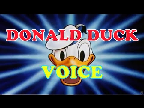 DONAL DUCK VOICE REAL INDONESIA