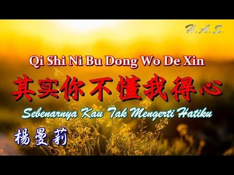 Qi Shi Ni Bu Dong Wo De Xin 其實你不懂我的心 [Sebenarnya Kau Tak Mengerti Hatiku] 楊曼莉