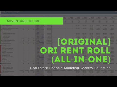 All-in-One Model Walkthrough #2 - Office/Retail/Industrial Rent Roll Tab