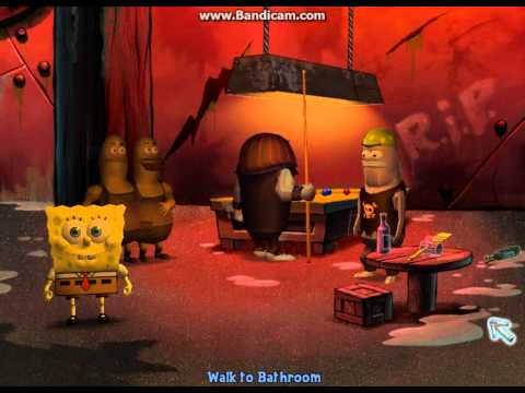Spongebob the Movie Game (PC VERSION!) 5 Thug Tug