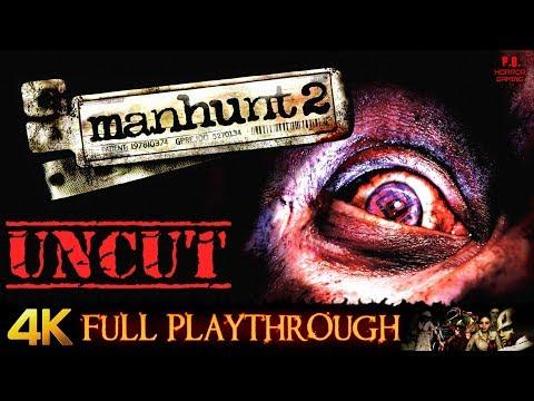 Manhunt 2 : Uncut & Uncensored | 4K | Full Game Longplay Walkthrough No Commentary