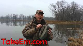 How To Rig Duck Decoys For Easy Depth Adjustment - TakeEm Calls