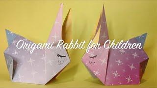 Origami Rabbit Easy (Level 1: Easy😊)