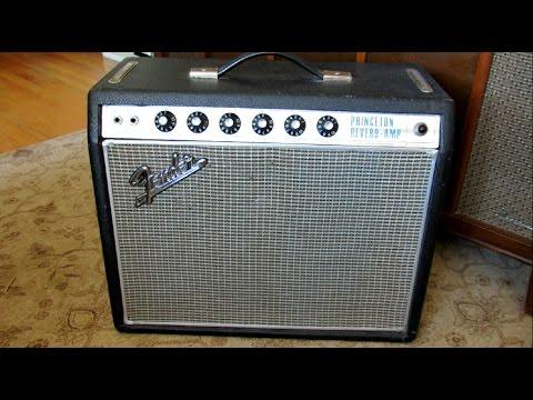 1968 Fender Princeton Reverb REPAIR & DEMO
