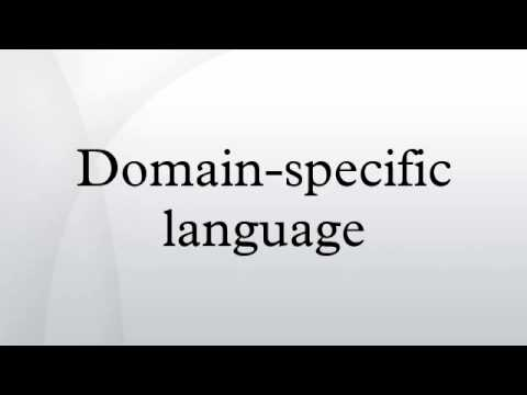 Domain-specific language