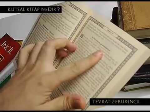 İncil,Tevrat, Zebur ve Kutsal Kitabı tanıyalım.