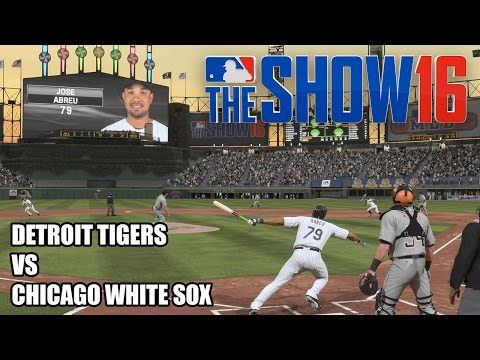 Thumbnail image for ''MLB The Show 16' Gameplay: Chicago White Sox vs. Detroit Tigers (PlayStation 4)'