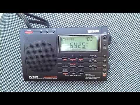 RCW Radio Compañia Worldwide 6925 KHZ (45Watts) desde Mendoza Tecsun PL-660