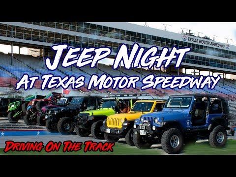 Jeep Night At Texas Motor Speedway - BaaBaaBlackJeep Get Together 2019 - Go Pro - HD - July 12, 2019