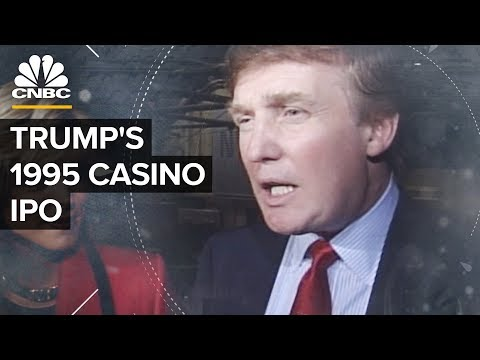 Watch Donald Trump's 1995 DJT IPO And Eventual Bankruptcy