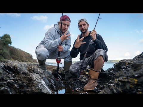 Cornish Rock Fishing Adventure