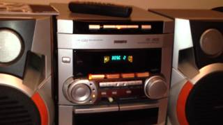 philips mini system fw c252