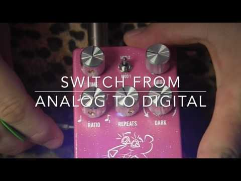 JHS Pink Panther Delay Pedal Of Echo Love And Flirtation