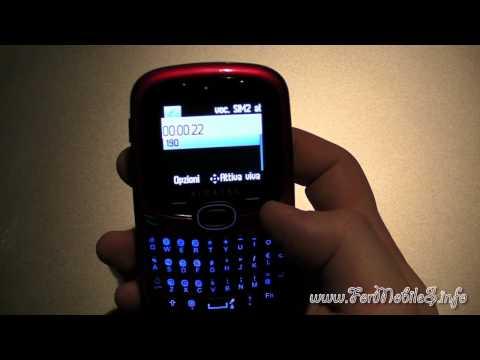 Demo gestione telefonate con 2 SIM diverse su Alcatel OT-255D
