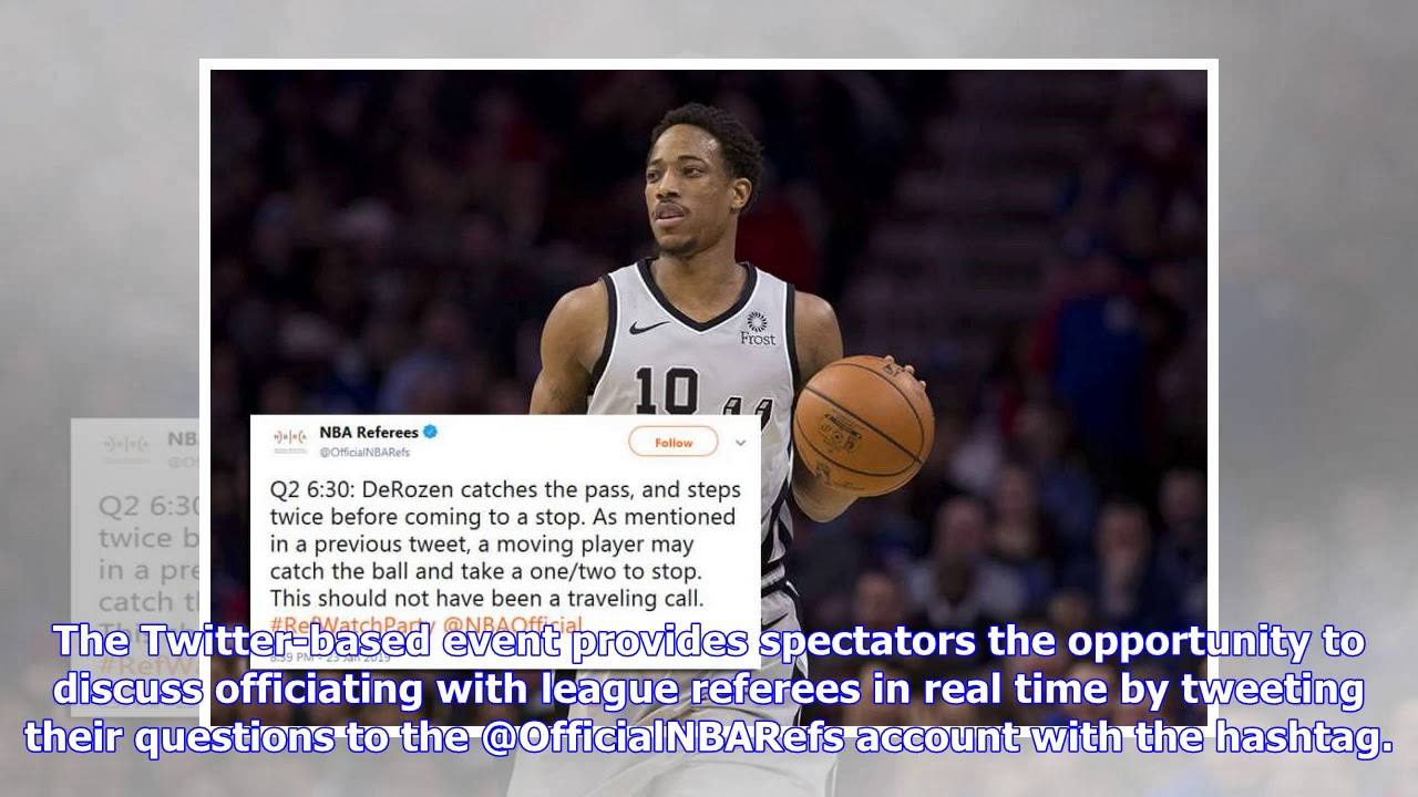 7eb5dd863 NBA referees respond to Spurs fans  Twitter questions on officiating during  ...