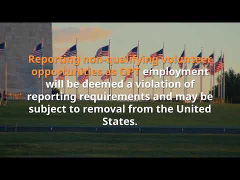 U.S. Alert ICE/SEVP Warns Students About Volunteer Positions