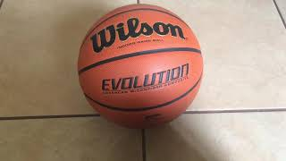 Wilson EVOLUTION Basketball Review
