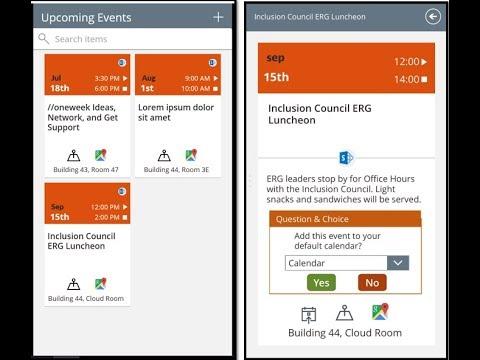 Building an Event Calendar App Using PowerApps (on a Plane)