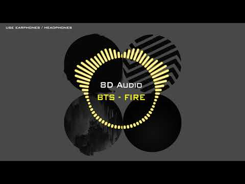 [Concert Sound] BTS - Fire 「8D AUDIO」USE HEADPHONES