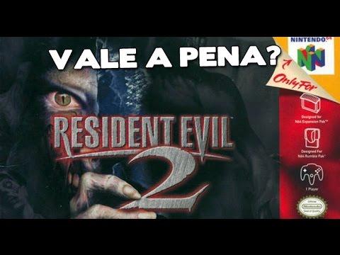 Vale a pena? Resident Evil 2 (20 anos de N64) [ZeroQuatroMidia]