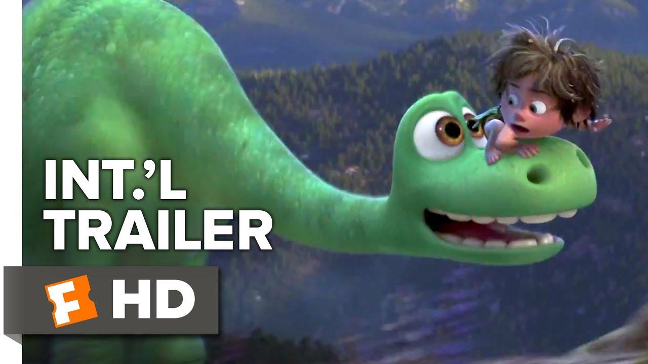 The Good Dinosaur Official International Trailer 1 2015