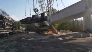 Crane falls Arcisate Stabio
