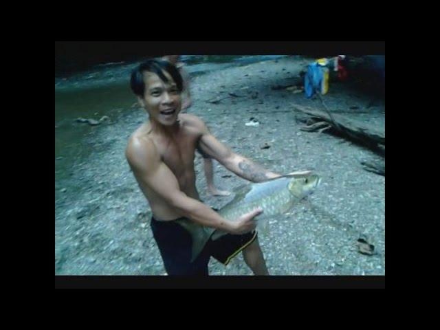 MAHSEER CASTING: Sungai Ope Hulu Kapuas