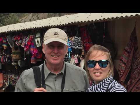 Peru Trip Chad Treva, me