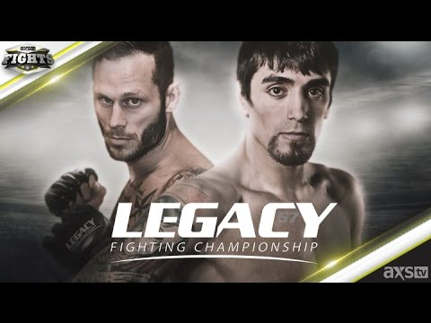 Aguilar & Kelley Scrap for the Featherweight Title at Legacy 57 July 1st on AXS TV