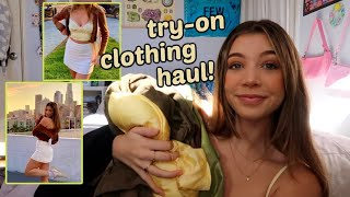 a try-on haul for the new year!!