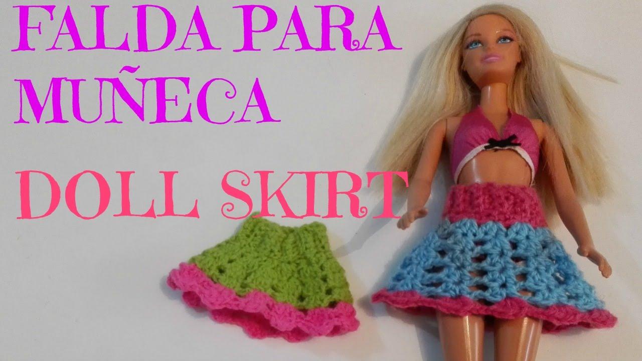 Magnífico Los Patrones De Crochet Libre Para La Ropa De Barbie ...