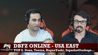 DBFZ World Tour Online 2018: USA East (Teemo, RogueYoshi, Doza, SuperhotGarbage + more))