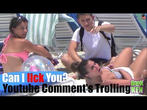 Can Lick You Public Trolling Prank