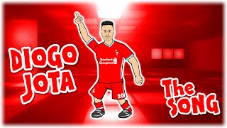 DIOGO JOTA: the song! 50! Hattrick! Atalanta vs Liverpool Champions League Goals Highlights 2020