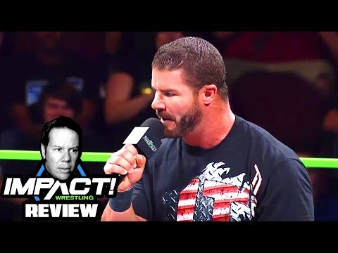No, Bobby Roode is NOT In Impact Wrestling (Steve Reviews Impact Wrestling 9/21/17)