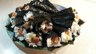 """Хенд-роллы. """"Домашние суши"""". Японская кухня"""