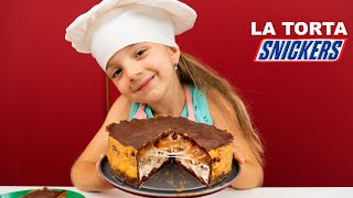 Come Fare Una Torta SNICKERS - Junior Chef Ameli