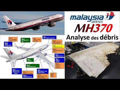 Analyse des débris du MH370 : étude de l'impact, possible amerrissage, rétrodérive...