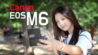 청순발랄 신인배우 이세희와 함께한 캐논 M6