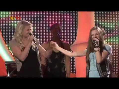 Janina & Lulu Lewe - Kika Live - Dein Song - Finale - Under Your Wings