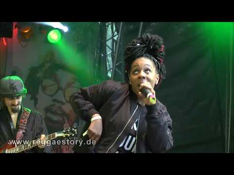 Marla Brown - 1/2 - Hunt You Down + - ... - 28.07.2017 - Reggae Jam