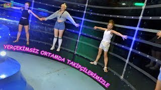 YerÇekİmsİz Ortamda 20 TakİpÇİmİz İle Bİr GÜn Starpark'ta - Eğlenceli Çocuk