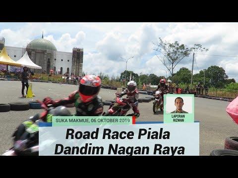 100 Pembalap Unjuk Diri Pada Road Race Piala Dandim Nagan Raya