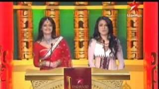 Naya sadasya nomination and Nivedita touching feet SPA 2011 3rd April