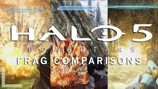 Halo 5: Guardians - Frag Grenade Comparisons (Halo 1-5)