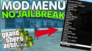 GTA 5 ONLINE - MODMENU PS3 TRAVADO 2018 (1.27) - 2018