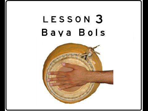 Khol (Mridanga) Lesson 03: Baya Bols