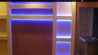 Светодиодная подсветка ниш, RGB лента.(Любые оттенки, зафиксированные пультом управления, будут радовать и посетителей ночного клуба, и гостей..., 2015-01-08T19:10:09.000Z)