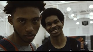 Men's Basketball's Allen, Banks embrace Team USA experience [July 14, 2016]